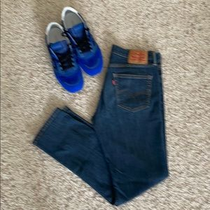 Levi Straus 511 men's dark blue jeans size W34 L32
